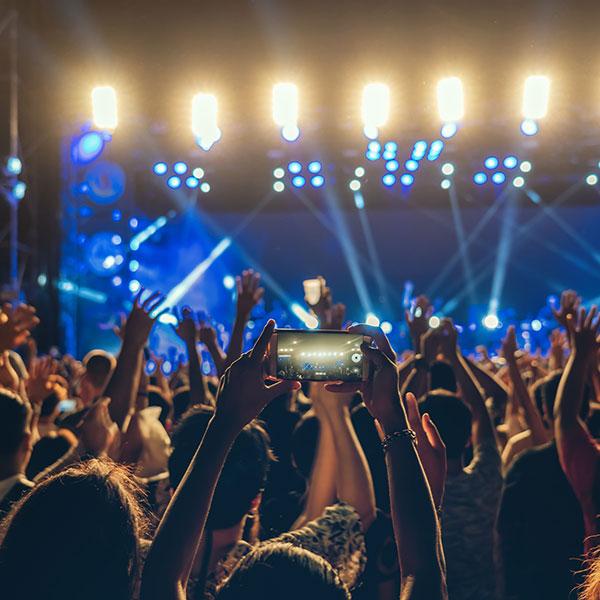 Broadcast de Espectáculos y conciertos